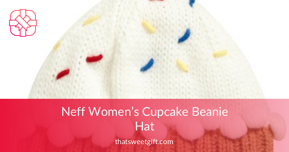 665bccb057458 Neff Women s Colorful Cupcake Beanie Hat